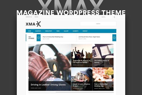 Download Xmax Magazine WordPress Theme
