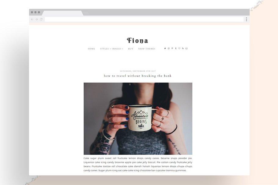 Download Fiona - Responsive WordPress