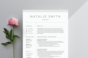 Download Word Resume & Cover Letter Template