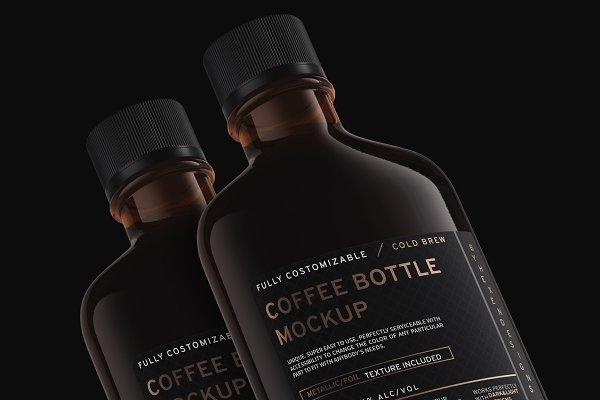 Download Coffee/Flask Bottle Mockup