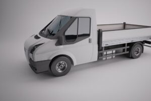 Download Flatbed Transit Van