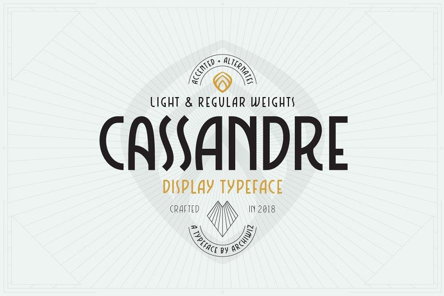 Download Cassandre font
