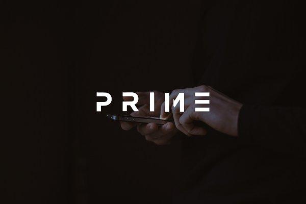 Download Prime - modern bold Sans Serif Font
