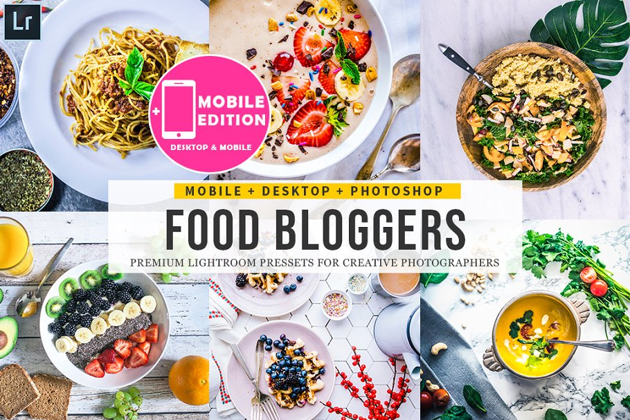 Download Food Blogger Lightroom Presets