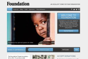 Download Foundation Nonprofit WordPress Theme
