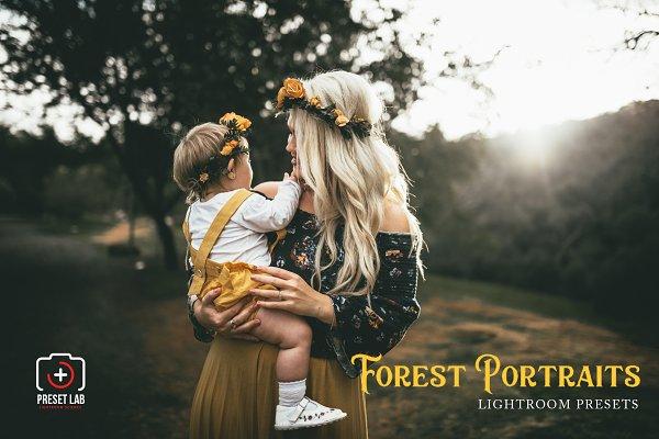 Download Forest Portrait for Lightroom