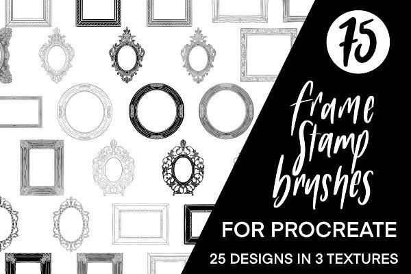 Download Procreate Frame Stamp Brushes