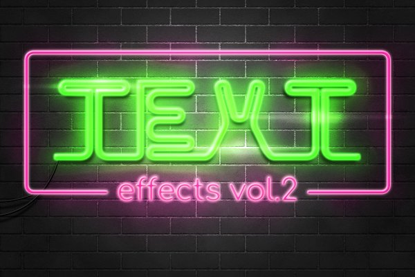 Download Photoshop Text Effects Pack vol.2