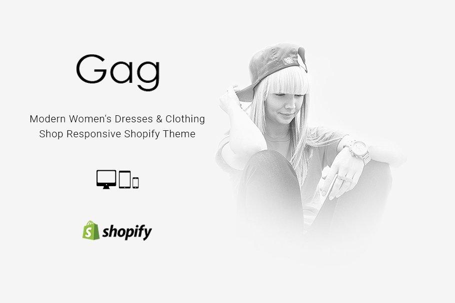 Download Gag Dresses Shop Shopify Theme