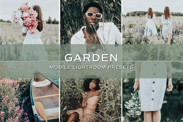 Download 5 Garden Lightroom Presets
