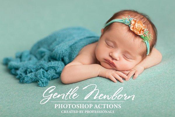Download Gentle Newborn Photoshop Actions