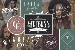 Download Girlboss Logo Bundle Vol. 2 - SALE