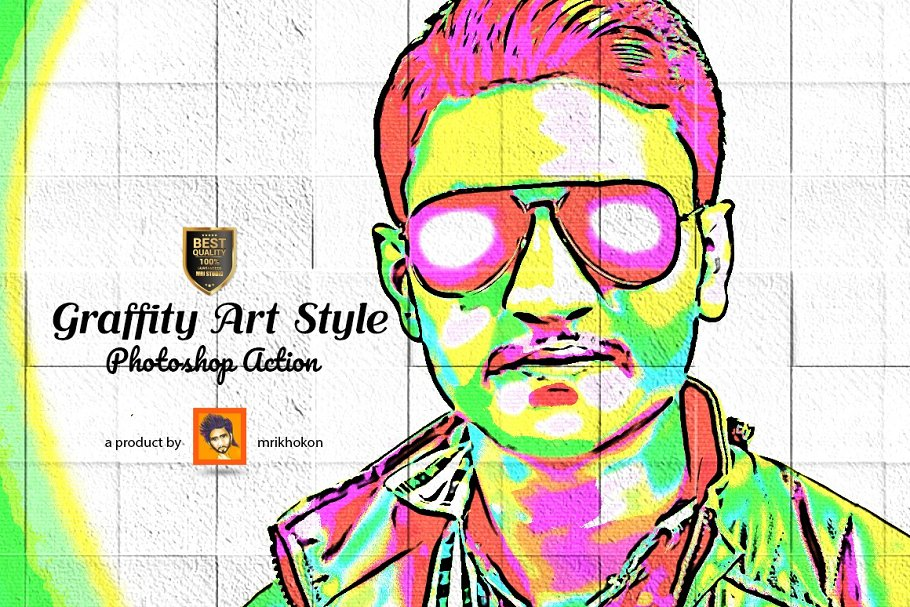 Download Graffity Art Style Photoshop Action