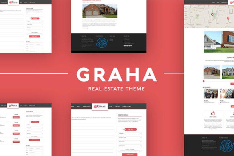 Download Graha Real Estate Wordpress Theme