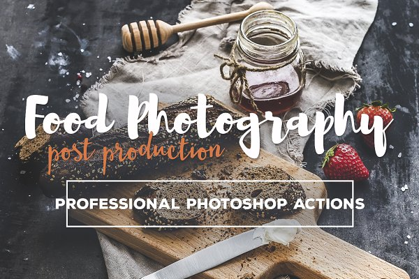 Download Food Photography Photoshop Actions