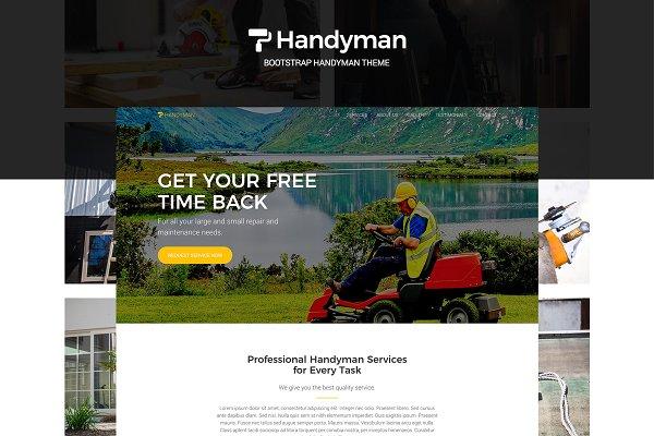 Download Handyman - Bootstrap Handyman Theme
