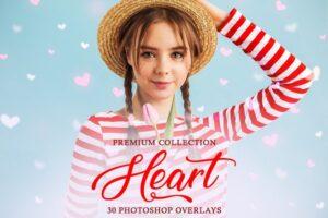 Download Heart Photoshop Overlays