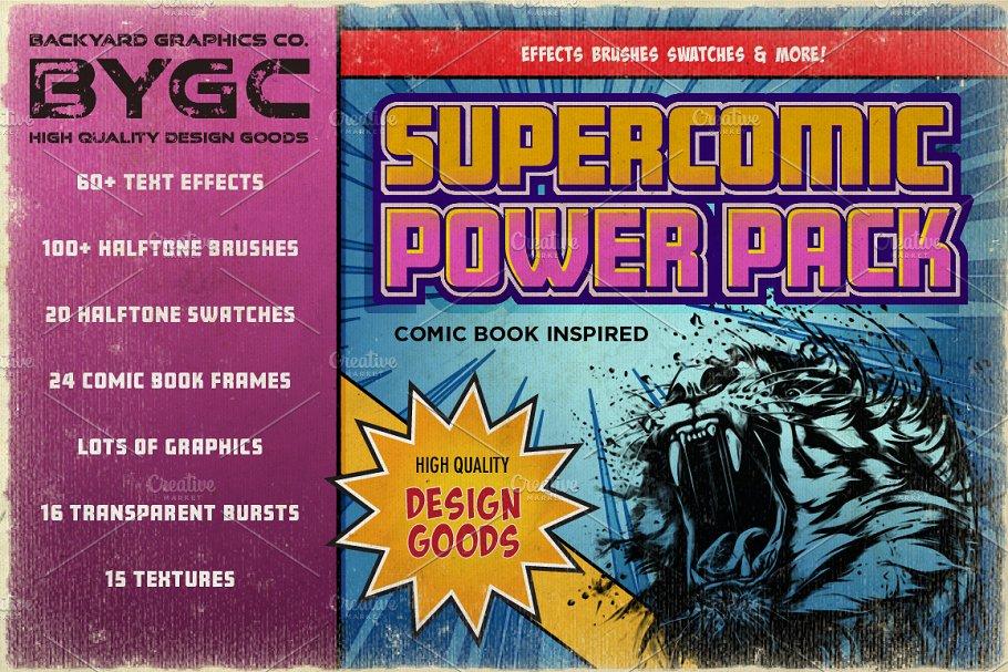 Download SuperComic Power Pack