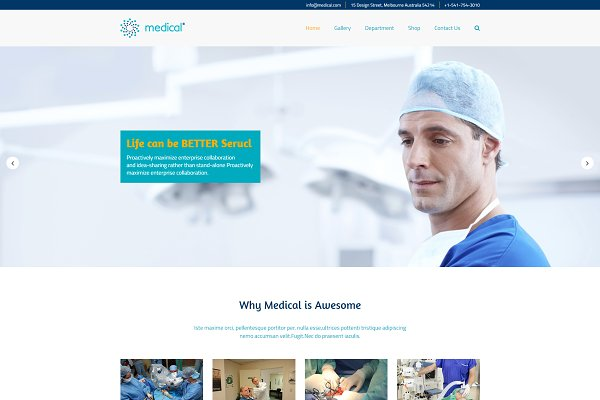 Download Medical - HTML Template