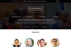 Download Conference - WordPress Theme