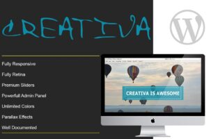 Download CREATIVA - One Page Parallax Theme