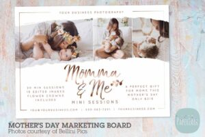 Download IM027 Mother's Day Marketing Board