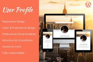 Download Profile WordPress Theme