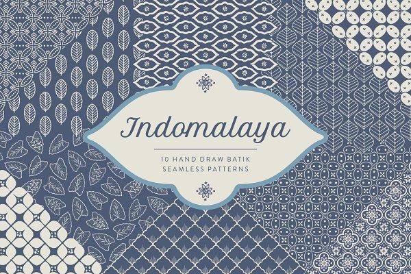 Download Indomalaya Batik Seamless Patterns
