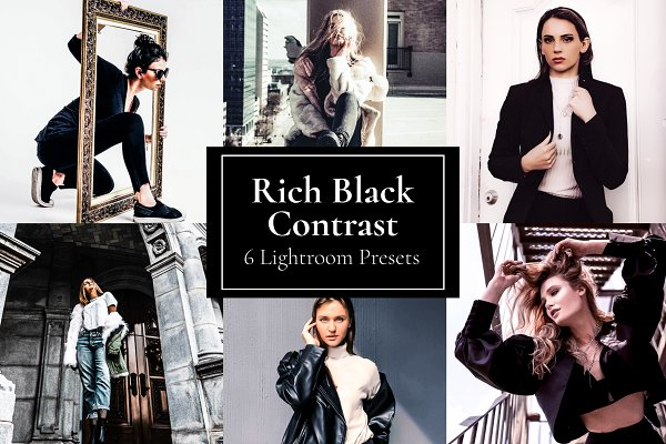 Download Rich Black Contrast Preset Lightroom
