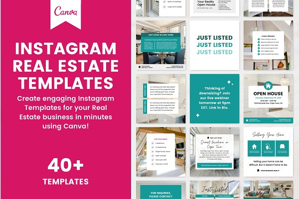 Download Instagram Real Estate Canva Template