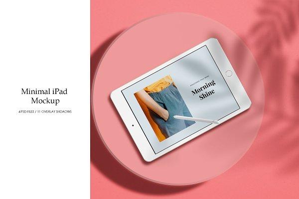 Download Minimal iPad Mockup