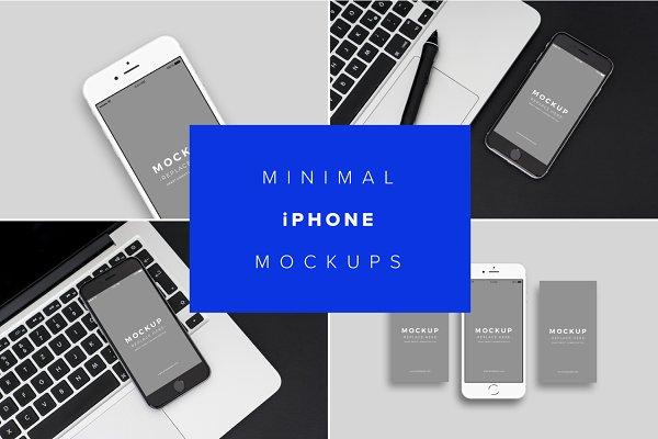 Download iPhone Mockups Minimal Version