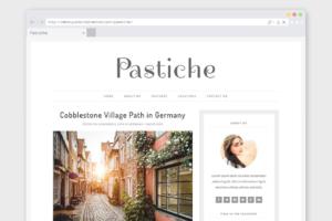 Download Minimalist WordPress Theme Pastiche