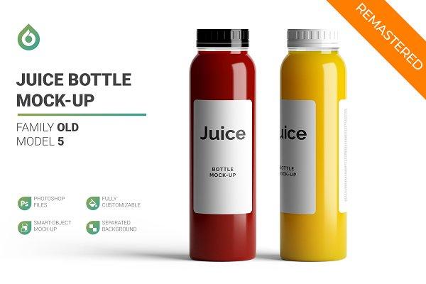 Download Juice Bottle Mock-Up 5