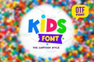 Download Kids Font otf