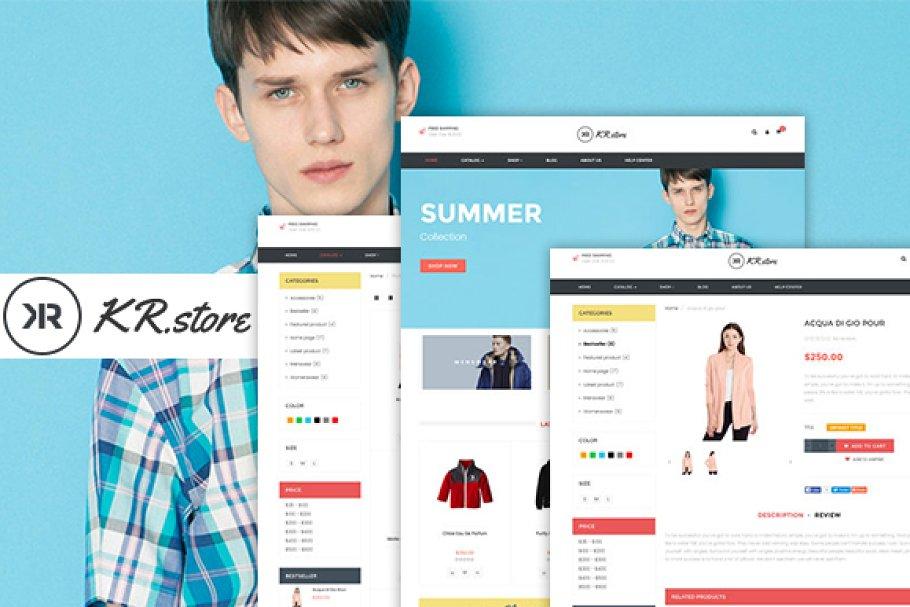Download Krstore - Shopify Theme