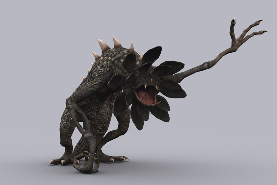 Download LACODON fbx only