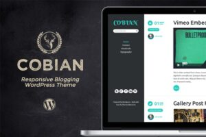 Download Responsive Blog Theme - Cobian