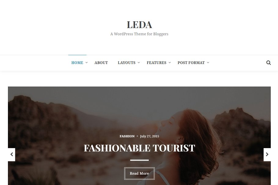 Download Leda WordPress Theme