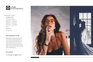 Download Lense - Minimal Photography Theme