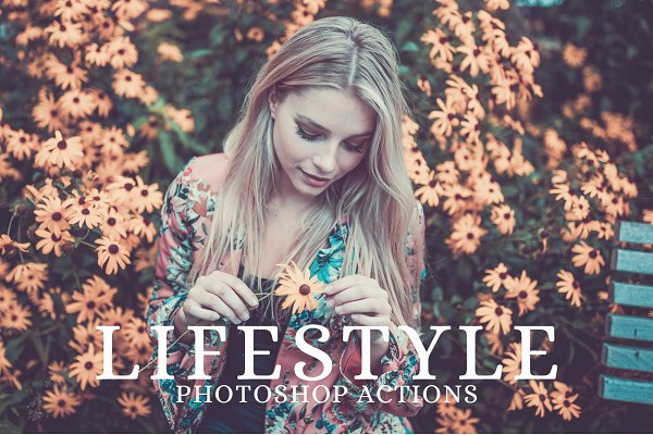 Download 25 Lifestyle Photoshop Actions