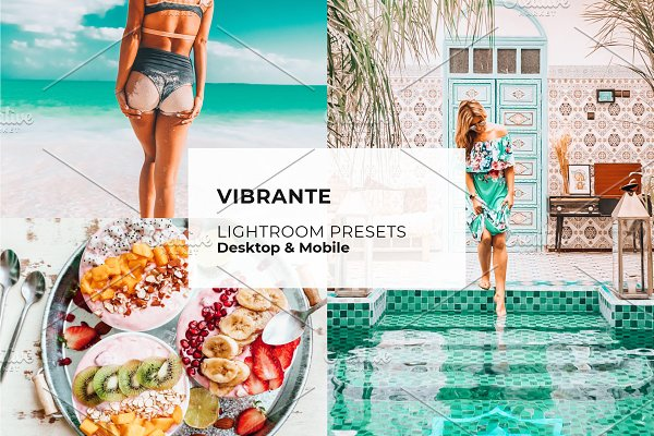 Download Vibrant Vivid Lightroom Presets