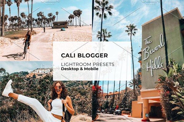 Download Cali Blogger Lightroom Presets