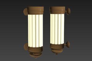 Download Light Sconce - Art Deco