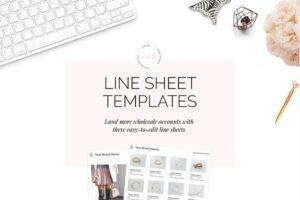 Download Line Sheet Templates