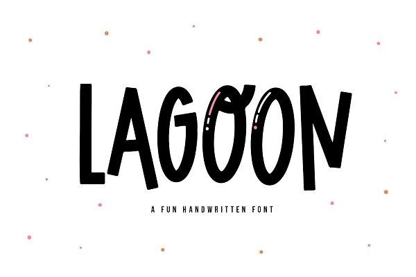 Download Lagoon | Quirky Handwritten Font