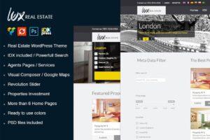 Download Lux Real Estate WordPress Theme