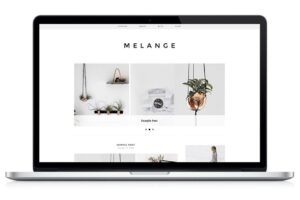 Download Responsive WP Theme - Melange