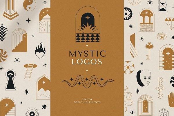 Download Mystic logos - vector elements