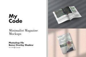 Download Minimalist Magazine Mockups Vol. 2